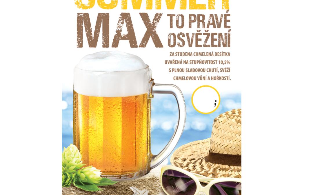 Přivítejte přicházející leto s pivem Summer Max